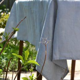 tinen Tablecloth light grey