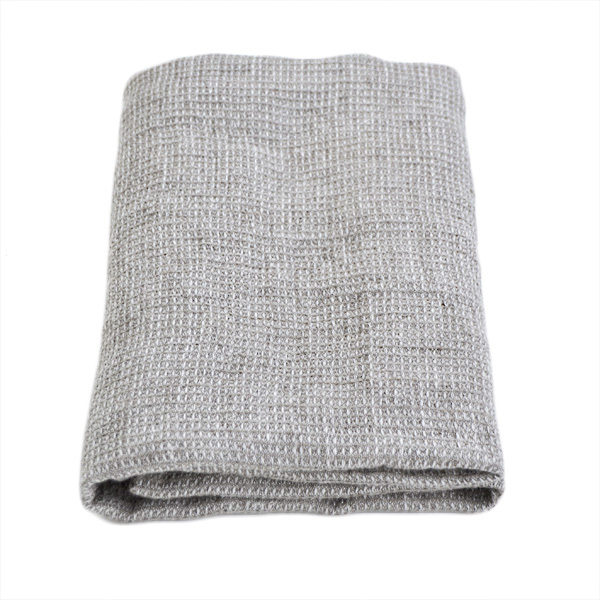 blødt hørhåndklæde