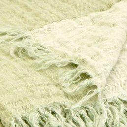Linen throw