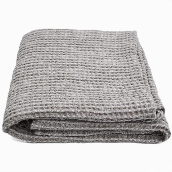 badehåndklæde hør-bomuld