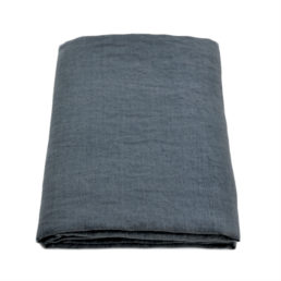 Linen tablecloth Dark Grey