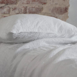 white linen pillow case Nordic