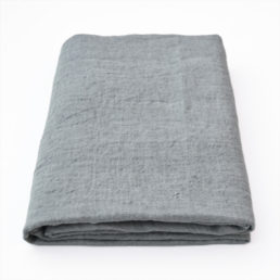 linen tablecloth grey