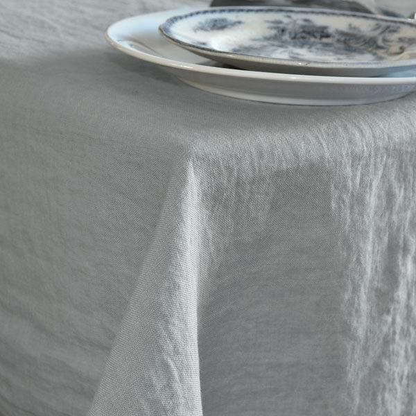 tablecloth light grey