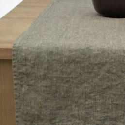 Table runner Grey melange
