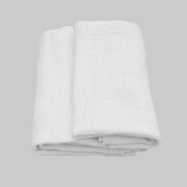 hørhåndklæde hvid