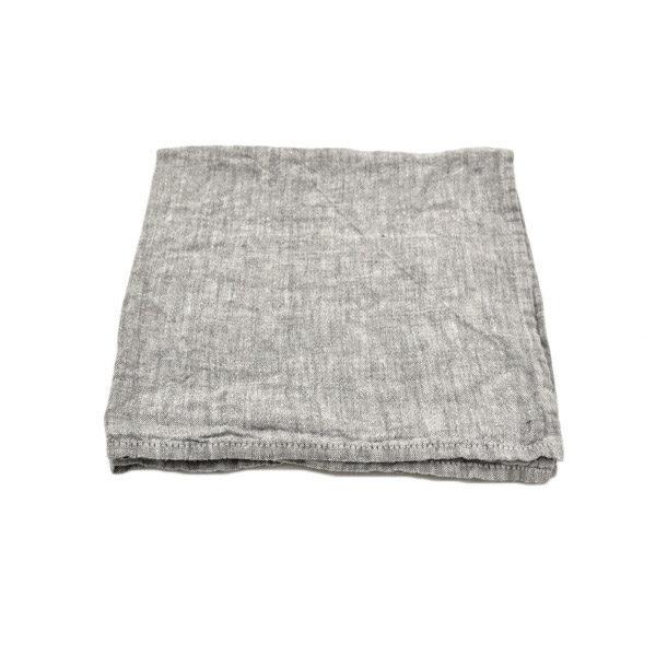Linen napkins Grey melange