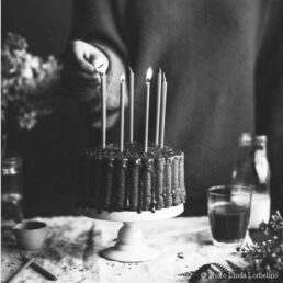 beeswax candles & candle holders