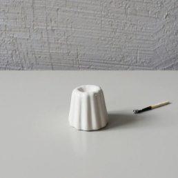 lysestage Hvid Keramik