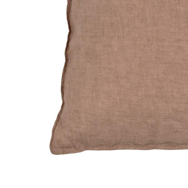 hørpusebetræk brun